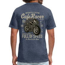 Load image into Gallery viewer, Cafe Racer Tee - heather navy