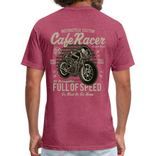 Load image into Gallery viewer, Cafe Racer Tee - heather burgundy