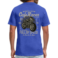Load image into Gallery viewer, Cafe Racer Tee - heather royal