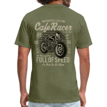 Load image into Gallery viewer, Cafe Racer Tee - heather military green