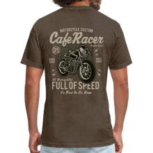 Load image into Gallery viewer, Cafe Racer Tee - heather espresso