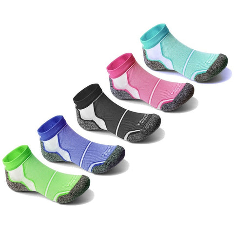 3 Pairs of More Mile New York Cushioned Ankle Running Socks