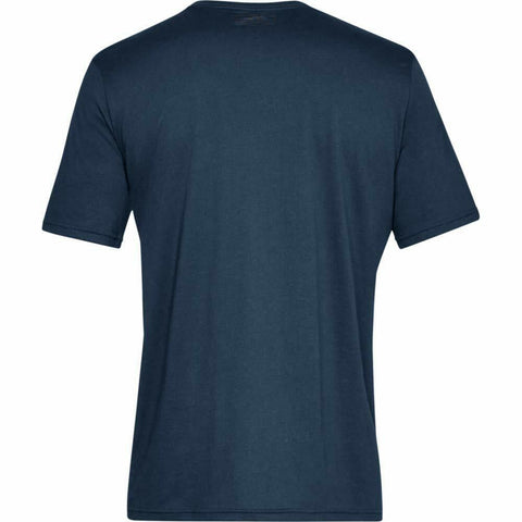 Under Armour S/Style Left Chest Logo Top - 1326799 408 - Navy