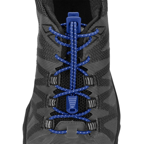Nathan Lock Laces - Blue