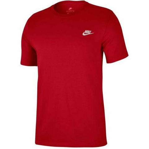 Nike Mens Club SS Top 827021 - Red