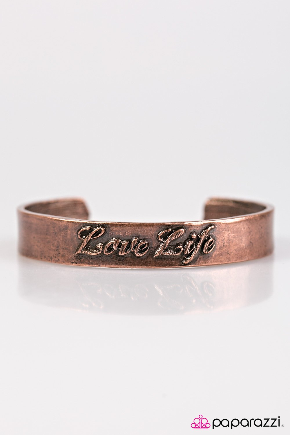 Live To The Fullest - Copper - Paparazzi Accessories - Pretty Girl Jewels