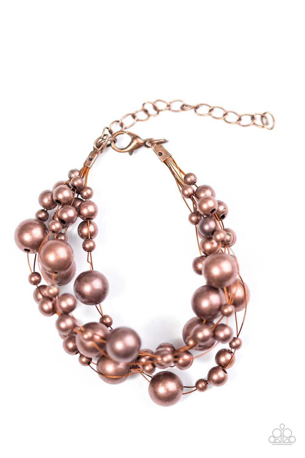Feeling Fabulous - Copper - Paparazzi Accessories - Pretty Girl Jewels