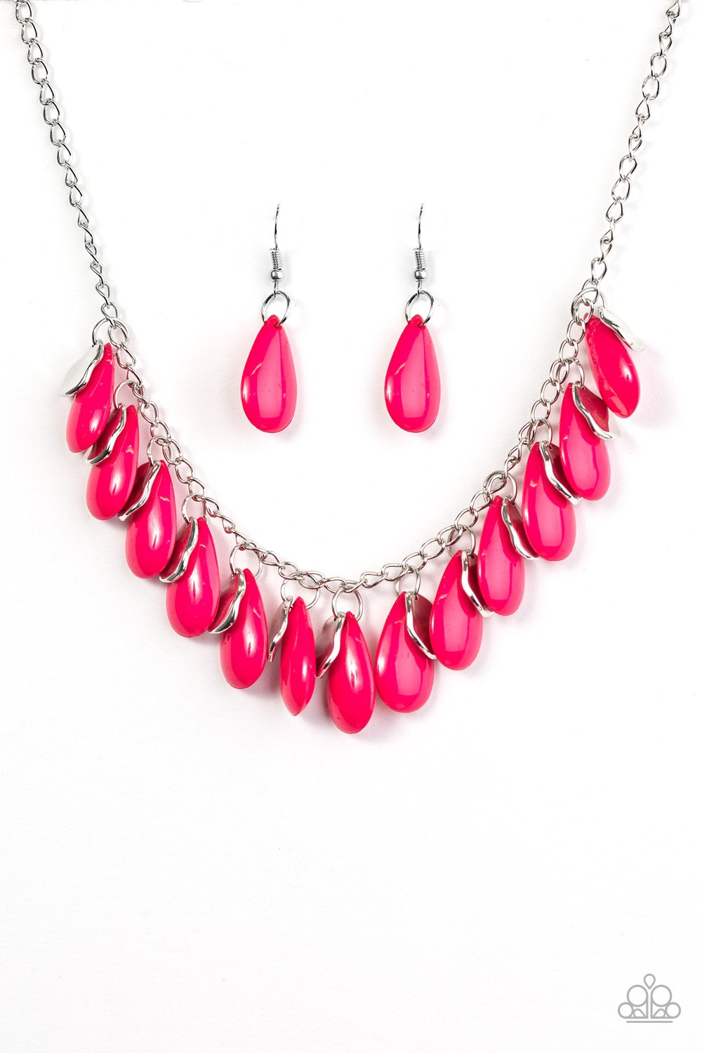 Tropical Storm - Pink - Paparazzi Accessories - Pretty Girl Jewels