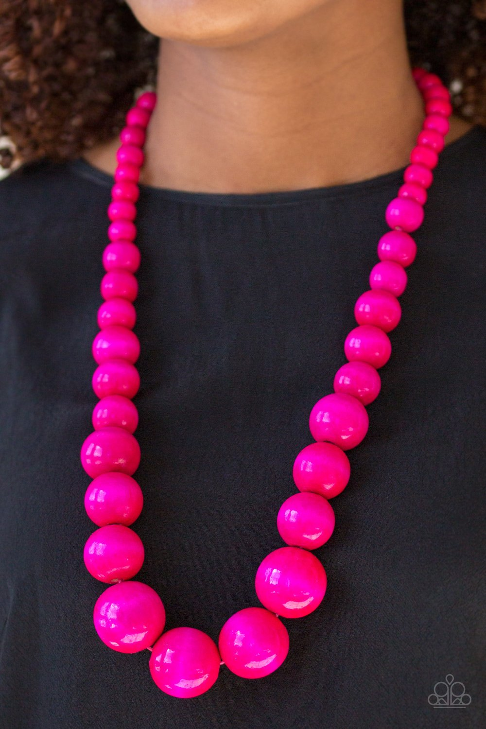 Effortlessly Everglades - Pink - Paparazzi Accessories - Pretty Girl Jewels