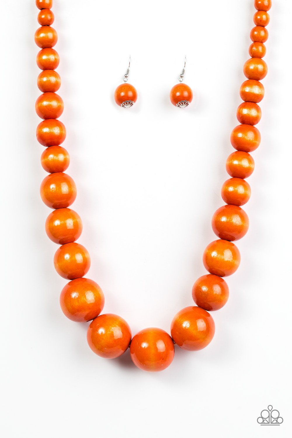 Effortlessly Everglades - Orange - Paparazzi Accessories - Pretty Girl Jewels
