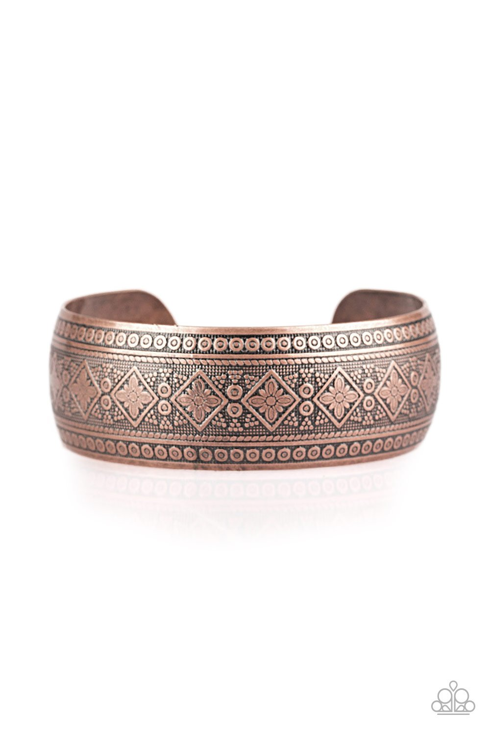 Gorgeously Gypsy - Copper - Paparazzi Accessories - Pretty Girl Jewels