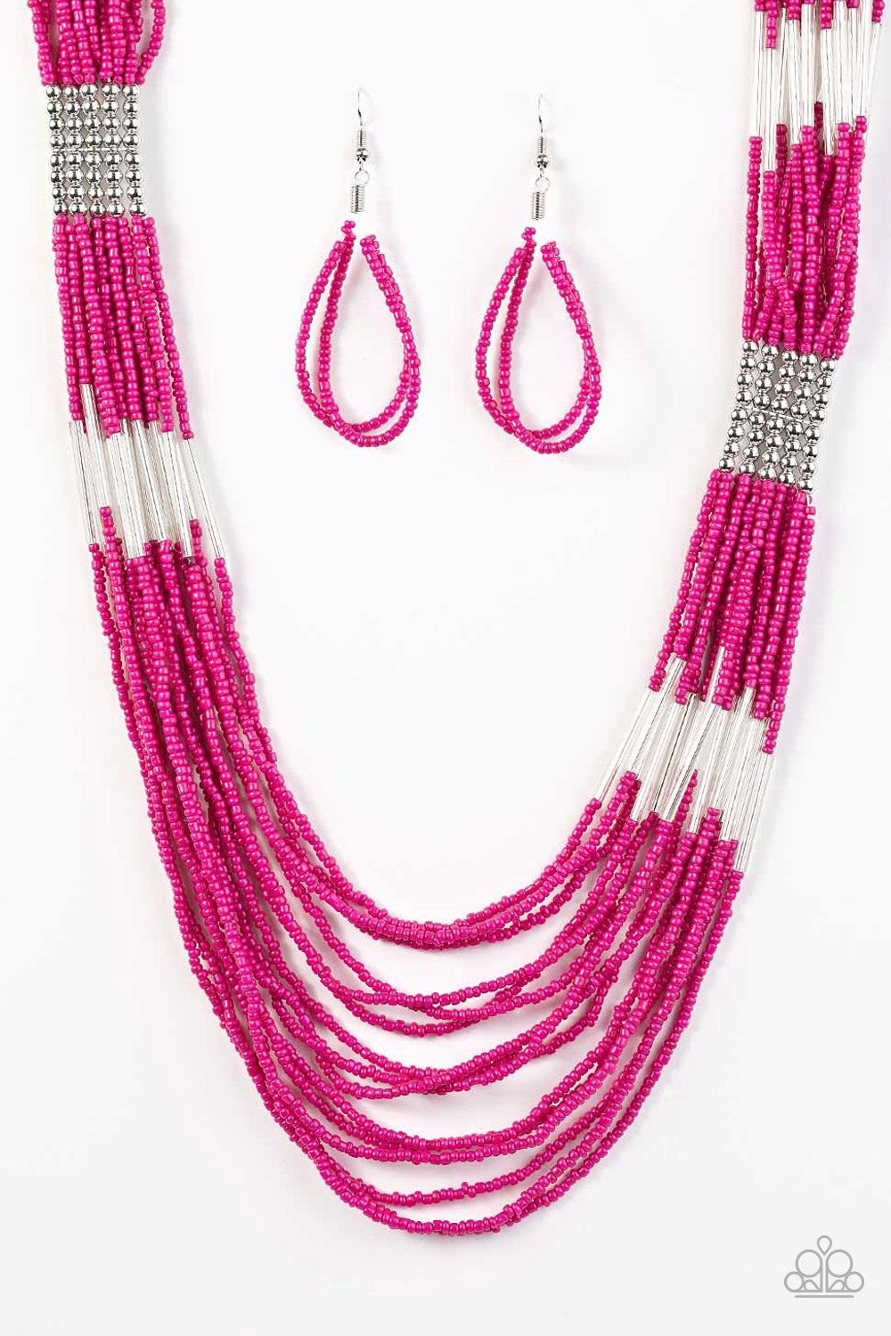Let It BEAD - Pink - Paparazzi Accessories - Pretty Girl Jewels