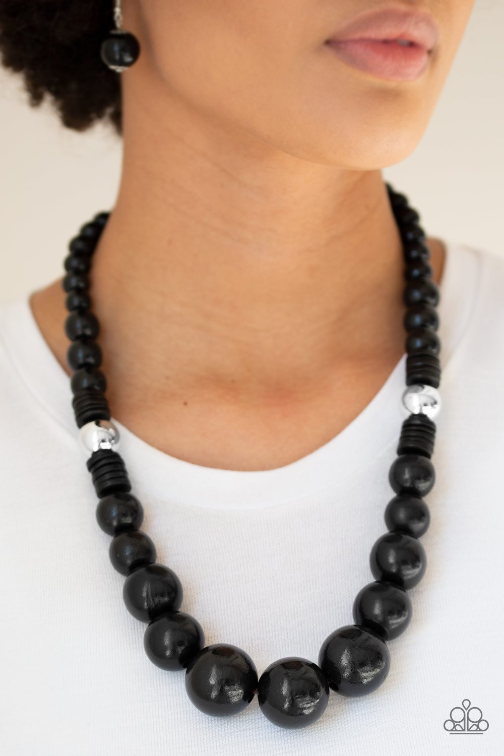 Panama Panorama - Black - Paparazzi Accessories - Pretty Girl Jewels