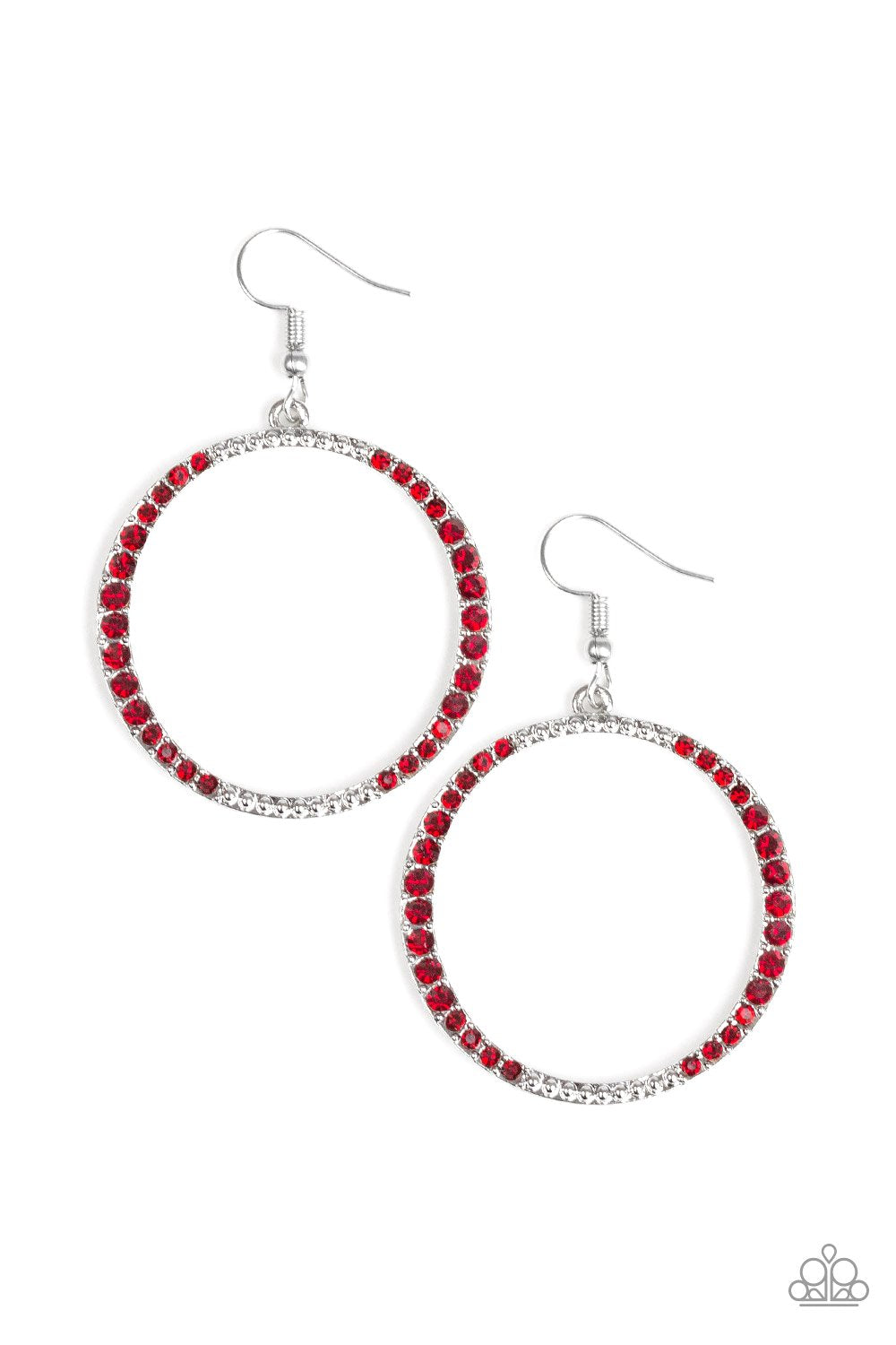Risky Ritz - Red - Paparazzi Accessories - Pretty Girl Jewels