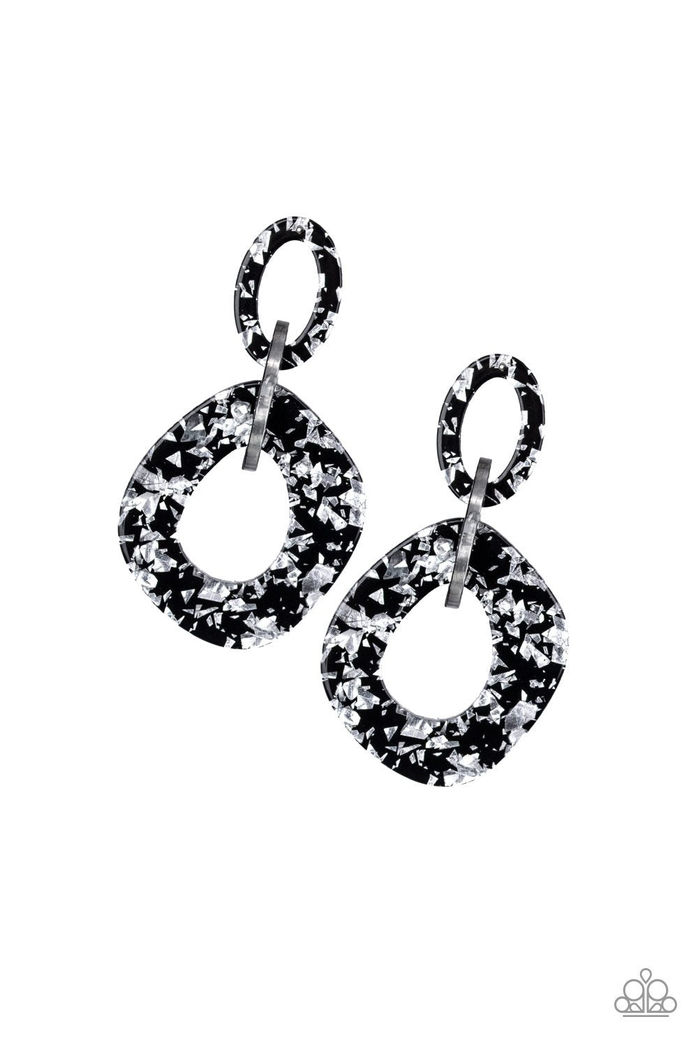 Confetti Congo - Silver - Paparazzi Accessories - Pretty Girl Jewels
