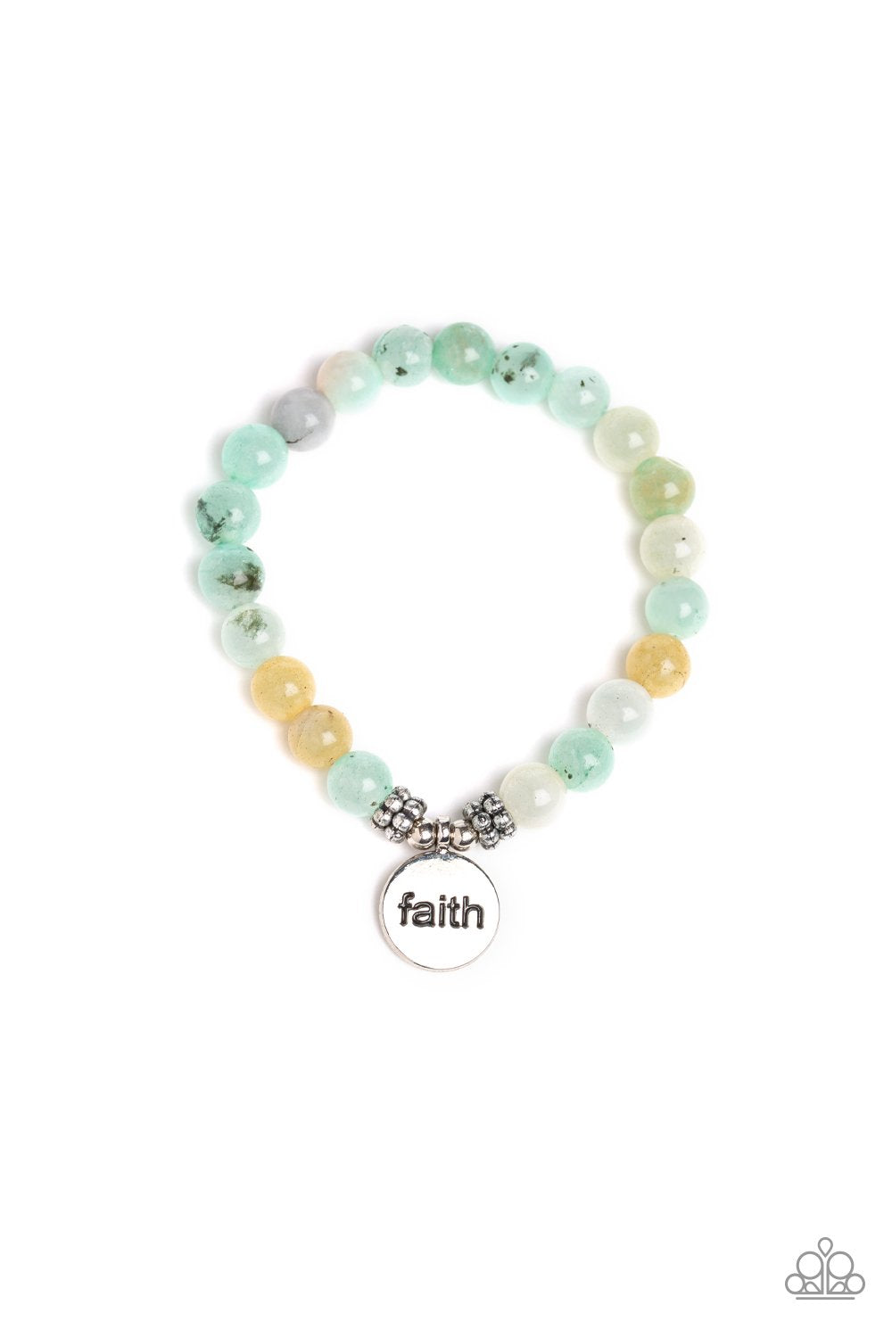 FAITH It, Till You Make It - Green - Paparazzi Accessories - Pretty Girl Jewels