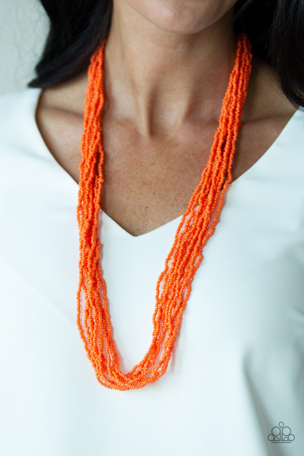 Congo Colada - Orange - Paparazzi Accessories - Pretty Girl Jewels