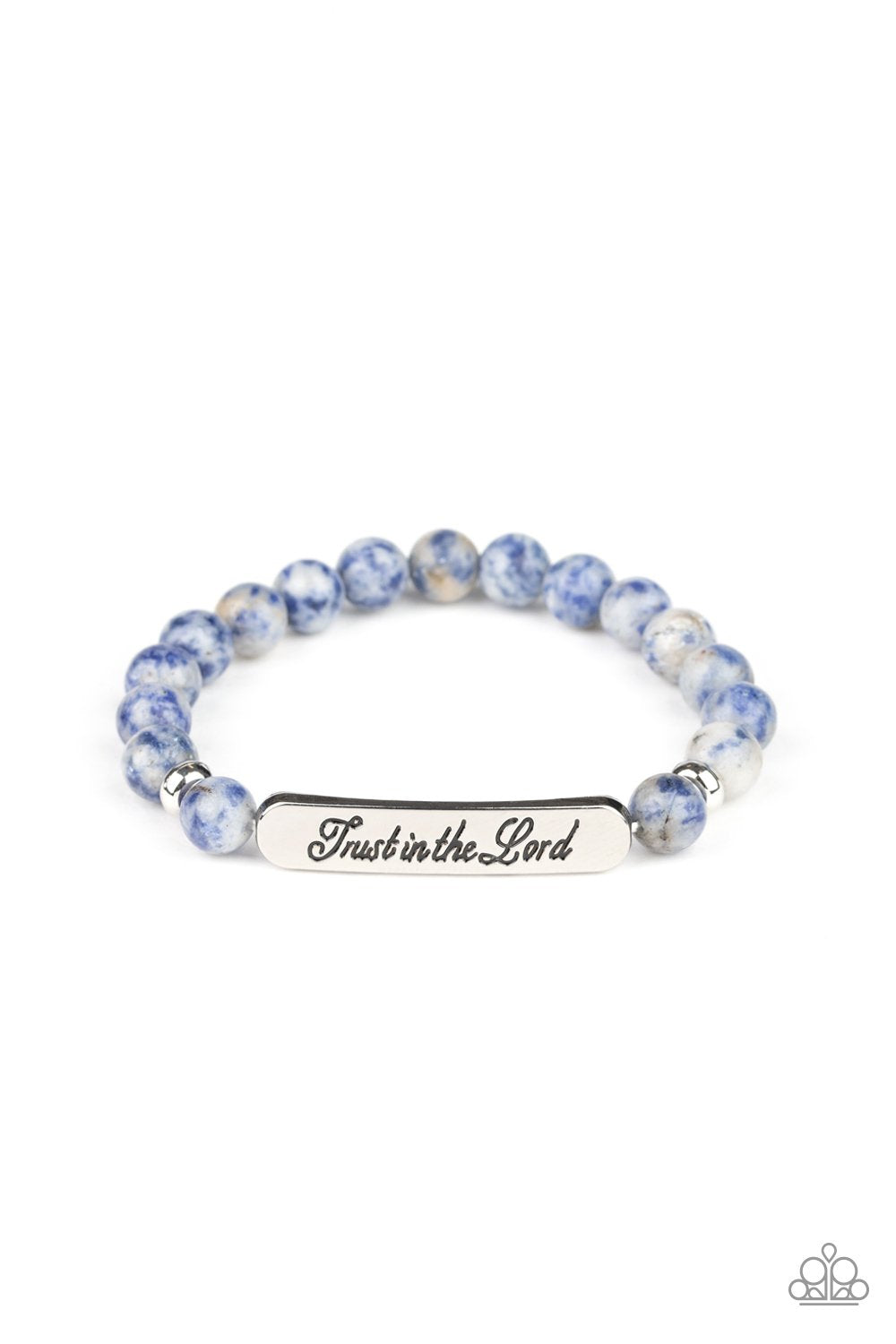 Keep The Trust - Blue - Paparazzi Accessories - Pretty Girl Jewels