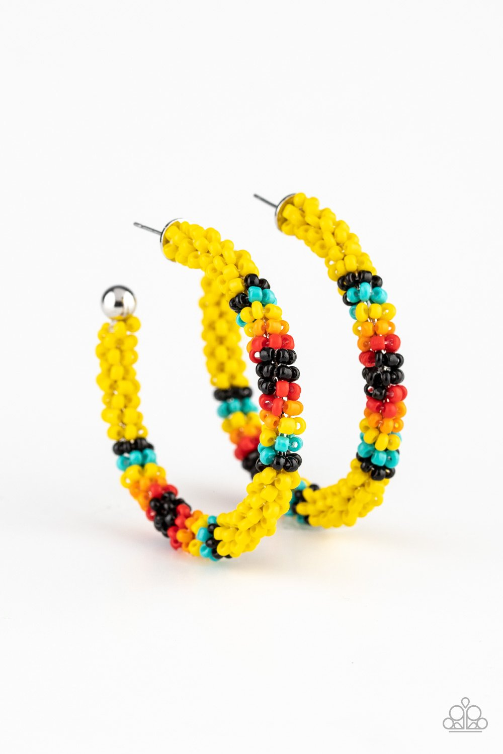 Bodaciously Beaded - Yellow - Paparazzi Accessories - Pretty Girl Jewels