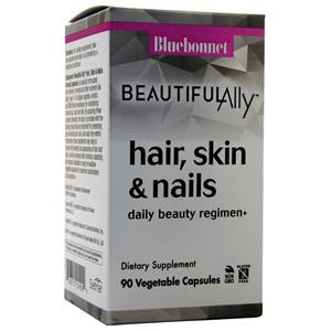 Bluebonnet BeautifulAlly Hair, Skin & Nails  90 vcaps