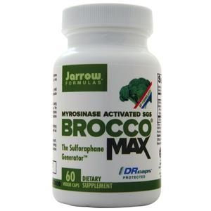 Jarrow BroccoMax (30mg)  60 vcaps