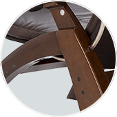 Human Touch Perfect Chair PC-350 Wood Base