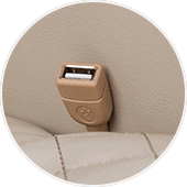 Human Touch Quies USB Port