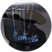 Human Touch Reflex Swing Pro Foot Rollers