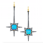 Load image into Gallery viewer, Spike Earrings