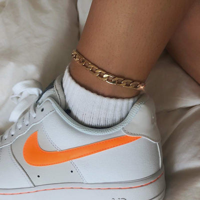 Thick Curb Anklet Anklets Top Gift