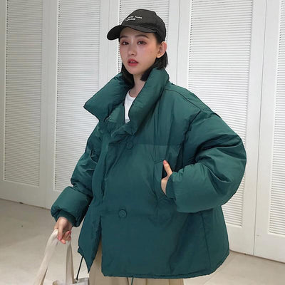 Hooded Puffer jacket Down Coats chu mark parka Store
