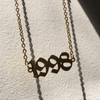 Year Necklace Pendant Necklaces Ainls Store