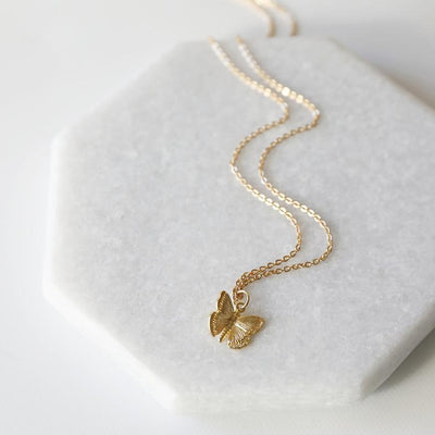 Butterfly Dreams Necklace Pendant Necklaces fashionsq Store