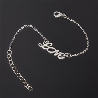 Silver Plated Custom Bracelet Chain & Link Bracelets ZSC JEWLRY & ACCESSORIES ns213