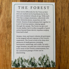 Forest Lore Card