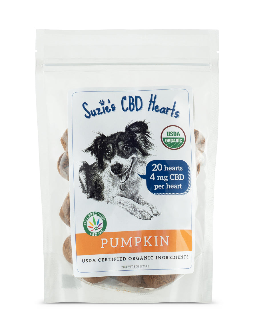 Suzie's Pumpkin Treats 4mg