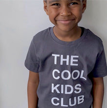 Load image into Gallery viewer, Cool kids club Anthracite T-Shirt