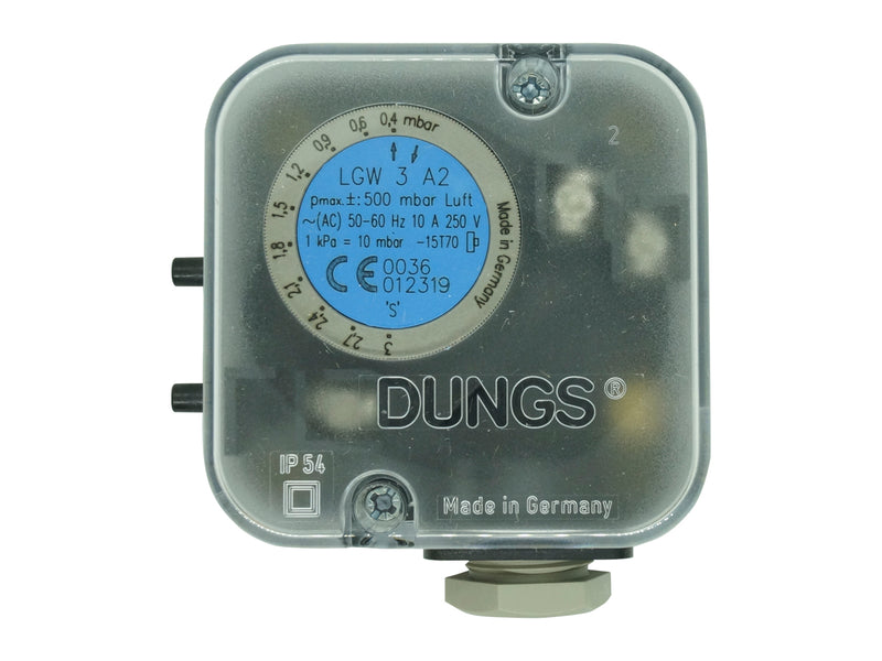 LGW-3A-4 - Dungs - Switch de presión para aire 0.4-3Mb