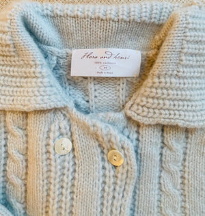 Baby Cashmere Jacket by Flora and Henri