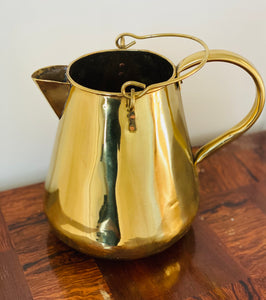 Antique Brass Watering Pitcher