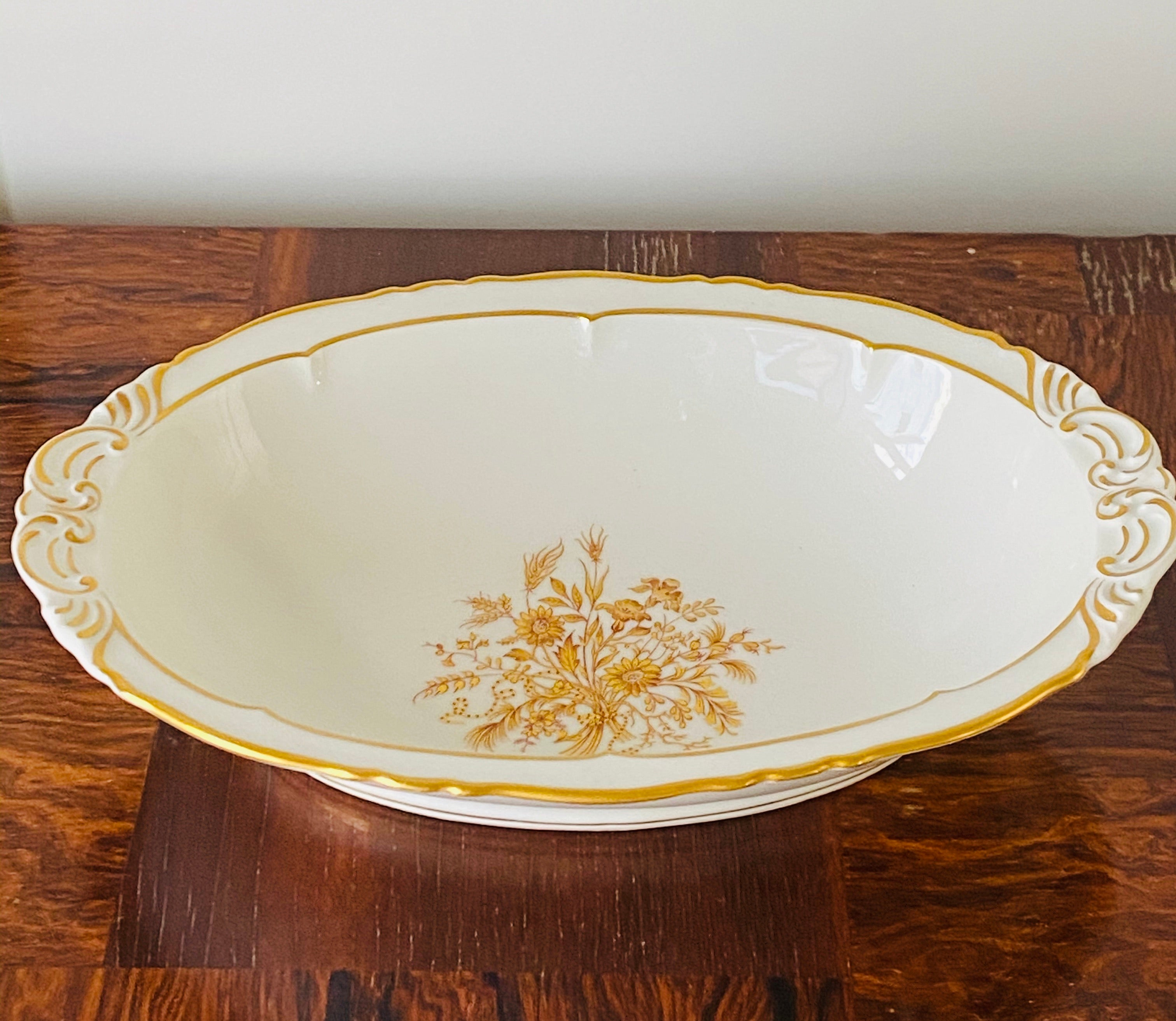 Limoges Porcelain Serving Bowl