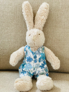 Bunny in Liberty Romper by Papo d'Anjo