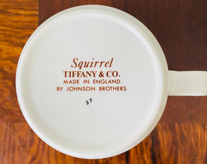 "Tiffany & Co ""Squirrel"" Child's Cup by Johnson Brothers"