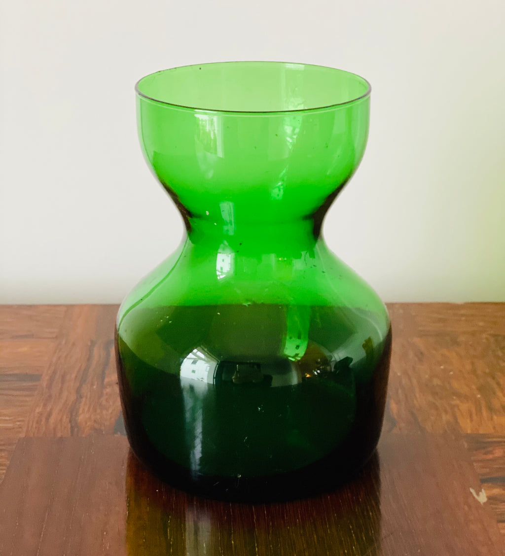 Vintage Glass Bulb Forcer, Emerald
