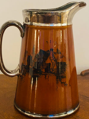English Lusterware Pitcher