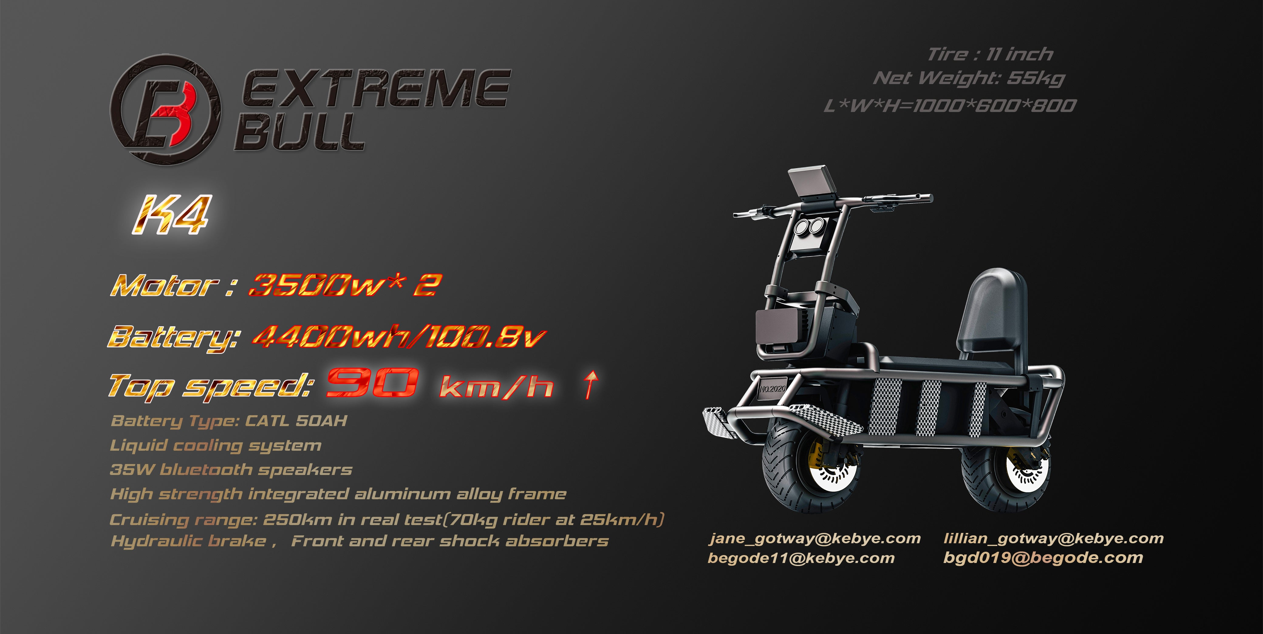 Extreme Bull Specifications