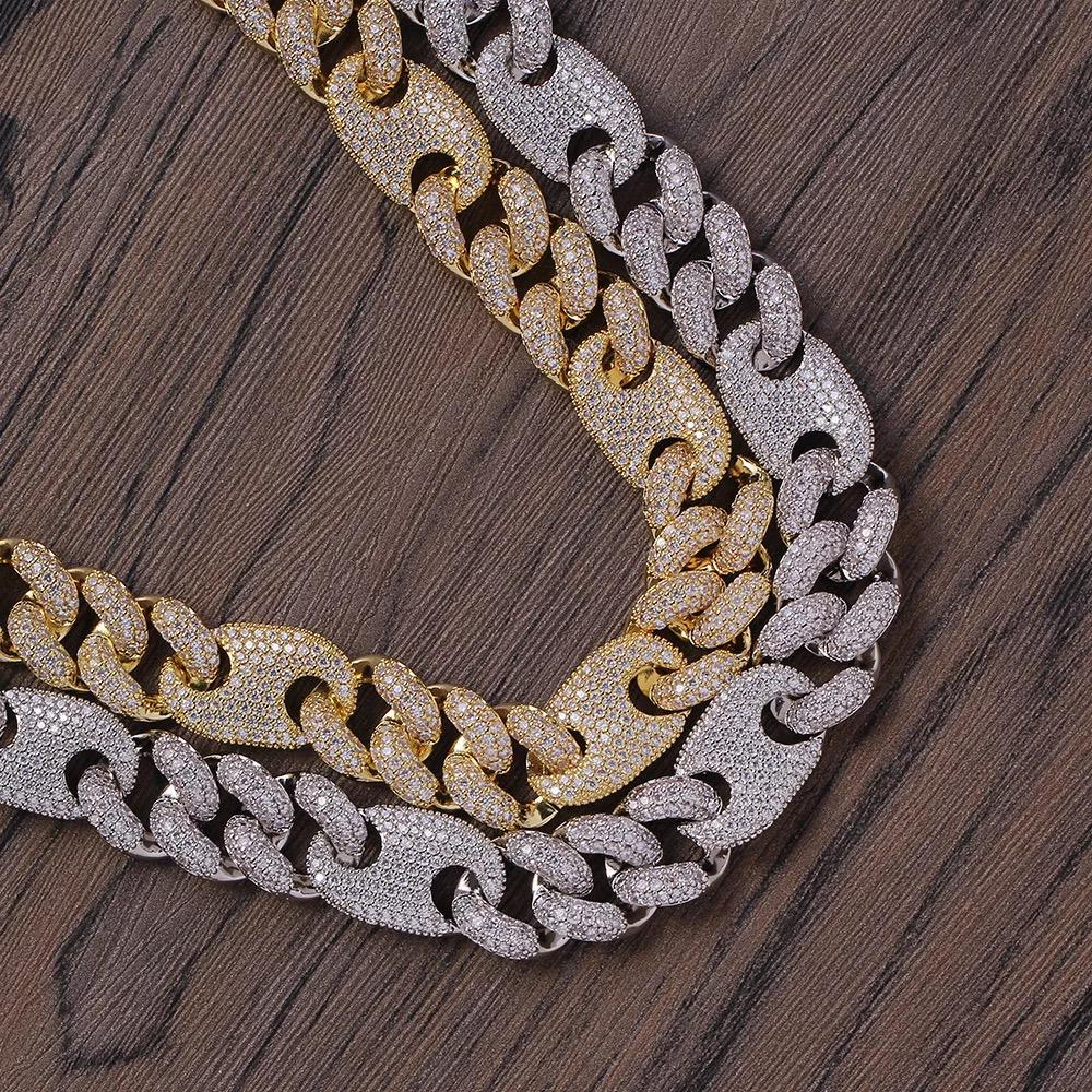 16mm Cuban Diamond Chain