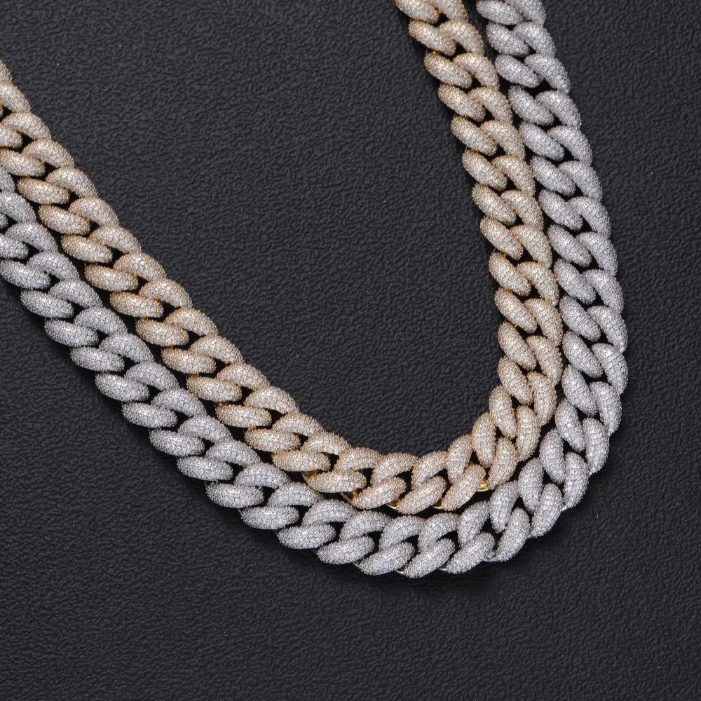 18mm Diamond Cuban Chain