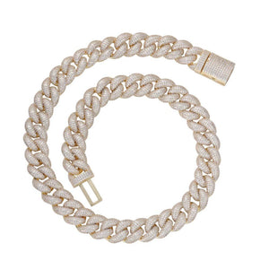 19mm Diamond Cuban Chain