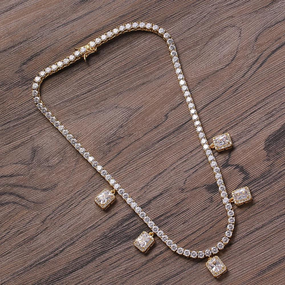 4mm Round Cut Diamond Tennis Chain